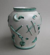 Vase (Formnummer 128), 1924, Höhe 26 cm, Entwurf: Augusta Kaiser